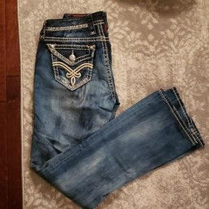 Rock Revival Jeans - ROCK REVIVAL bootcut Jean's. Size 25.